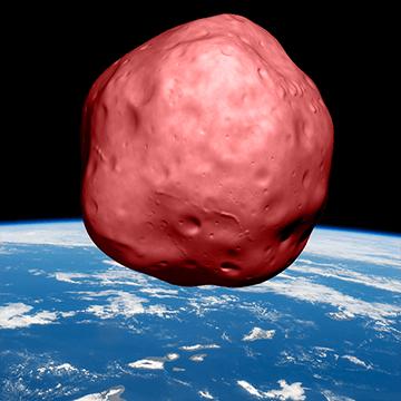 Tap the Asteroids - A dangerous rain of asteroids ...